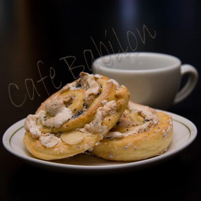 Ciasteczka z ciasta drożdżowego