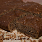 BROWNIE Z KAROBEM