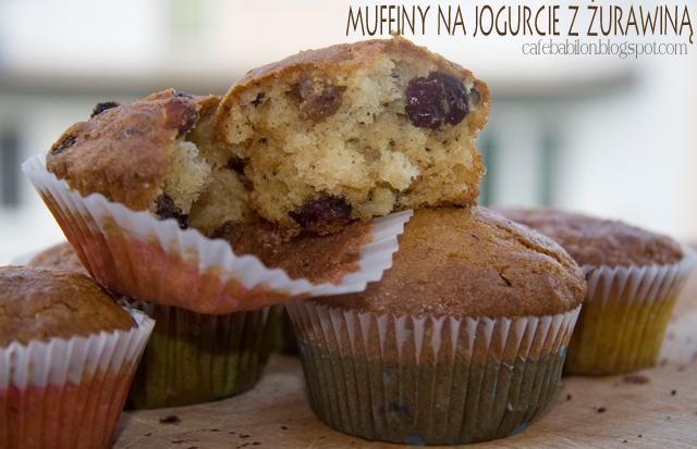 Szybkie muffiny na jogurcie