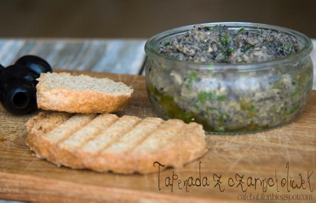 Tapenada z czarnych oliwek