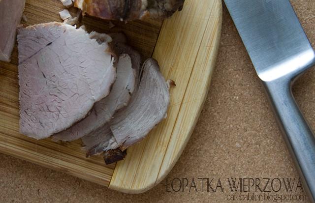 Pieczona łopatka wieprzowa