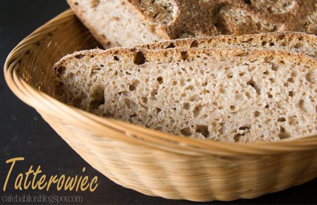 Tatterowiec prosty chleb pszenno-żytni na zakwasie