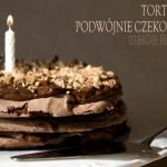 PODWÓJNIE CZEKOLADOWY TORT BEZOWY