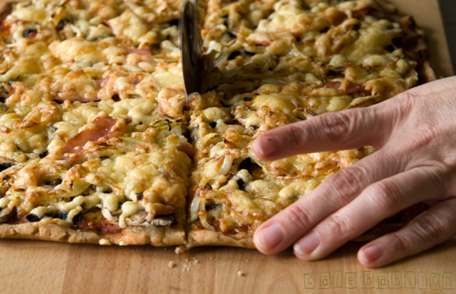 Pizza na mące gryczanej
