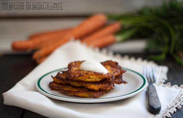 Placki z marchewki i ziemniaków