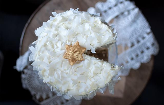 Tort kokosowy foto Monika Szefler