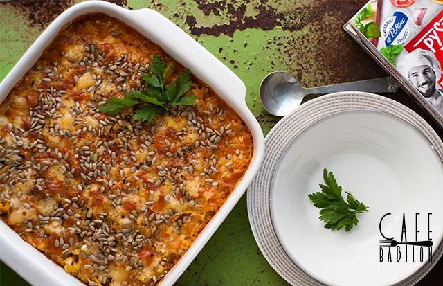 Zapiekana zupa pomidorowa