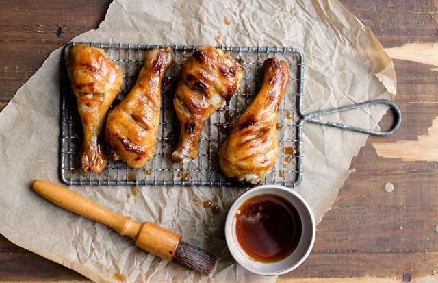 Kurczak pieczony w herbacie